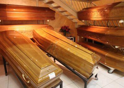 selezione casse mortuarie Foggia Angeli
